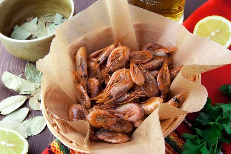 Креветки к пиву рецепты с фото